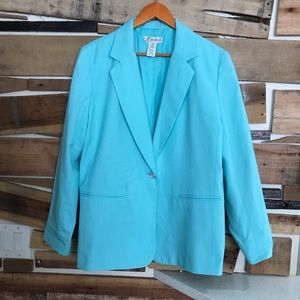 Dress barn Women jacket one button front size 16